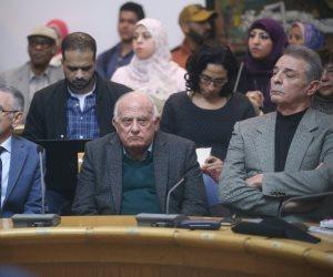محمود حميدة والخرباوي يشاركان في تدشين صالون بن رشد(صور)