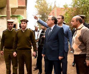 مدير أمن كفر الشيخ يتابع فحص المترددين على الكنائس ببيلا والحامول