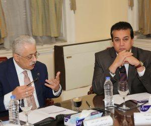 وزير التعليم العالي يشارك في اجتماع المجلس التنفيذي للتعليم الفني