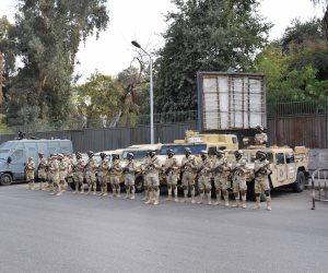دوريات من القوات المسلحة والشرطة لتأمين احتفالات أعياد الميلاد بالمحافظات