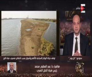مفاجأة.. رئيس هيئة النقل النهري: تم سرقة 583 شمندورة بالنهر خلال ثورة 25 يناير