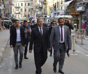 بعد ساعات من تقلده منصبه.. مساعد وزير غرب الدلتا يتفقد كنائس الإسكندرية (صور)