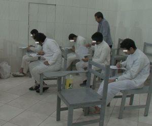 قطاع مصلحة السجون يعقد لجان امتحانات نصف العام للمراحل الجامعية