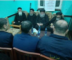 أين هيومان رايتس؟ رجال الكنيسة يقيموا شعائر الصلاه للنزلاء الأقباط بسجن بورسعيد