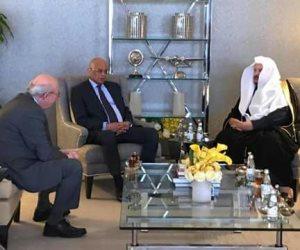 علي عبدالعال يصل الرياض في زيارة رسمية