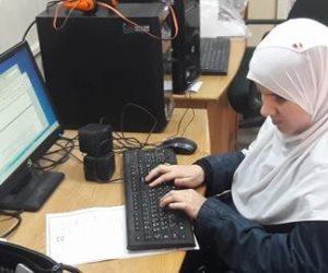 جامعة الأزهر تبدأ اختبار الطلاب المكفوفين إلكترونيا للمرة الأولى (صور)