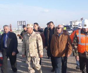 اللواء كامل الوزير: خروج الماكينة الرابعة من أنفاق بورسعيد عبور جديد للمصريين (صور)