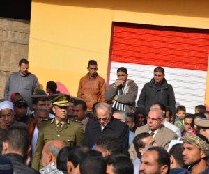 تشييع جثمان شهيد الأمن العام في مسقط راسة بالقليوبية (صور)