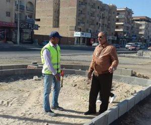 محافظ البحر الأحمر يتفقد أعمال تطوير شارع النصر بالغردقة