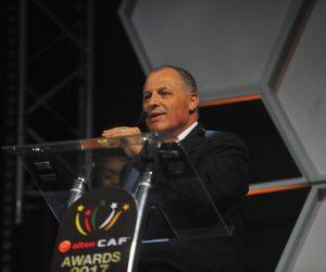 """رئيس """"الكاف"""": أبو ريدة نجح في إعادة مصر للزعامة الأفريقية"""