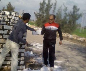 إعادة بناء الكمين الثابت بأبو غنيمة في كفر الشيخ (صور)