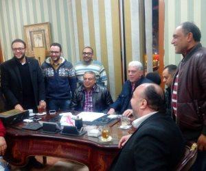 خالد عيد يوقع عقود تدريب بلدية المحلة (صور)