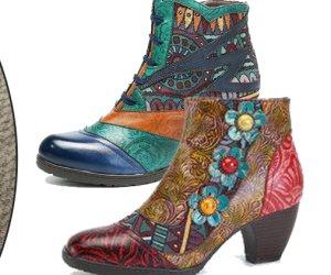 الشياكة تبدأ من الحذاء .. أحدث وأغرب صيحات الموضة للأحذية والبوت الشتوي
