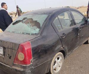عاجل.. استشهاد مواطن وإصابة آخر في هجوم على كمين بالقاهرة الجديدة (صور)
