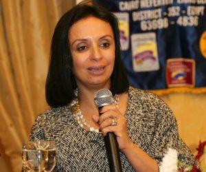 مايا مرسى لـ«أفريقية حقوق الإنسان»: مكتسبات المرأة المصرية تعرضت في فترة الاخوان الى ردة