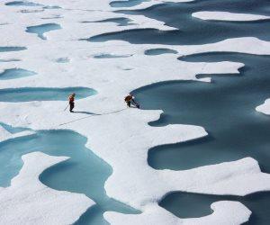 للمرة الثالثة خلال 80 عاما.. تجمد مياه المحيط الأطلسى قبالة سواحل أمريكا