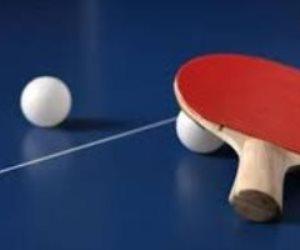 4 لاعبين و3 لاعبات في قائمة منتخب تنس الطاولة ببطولة العالم