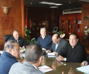 وزير الري يوجه بدراسة طلب مرتضي منصور بتوفيق أوضاع النادي النهري للزمالك (صور)