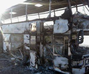كازاخستان: بعض ضحايا الحافلة المحترقة من أوزبكستان