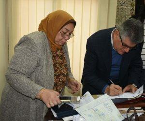 نجل الزعيم عبد الناصر يحرر توكيلا لتأييد ترشح السيسي لفترة رئاسة جديدة (صور)