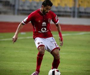 باسم علي يتقدم بالهدف الثاني للأهلي أمام الرجاء في الدقيقة 59