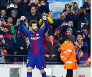 برشلونة يتقدم على إسبانيول 2 / 0 في الشوط الأول (فيديو)