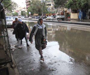 الأرصاد: اليوم أمطار غزيرة على كافة الأنحاء.. ورعدية فى القاهرة الكبرى