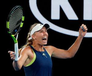 الدنماركية كارولين تحصد لقب بطولة أستراليا المفتوحة للتنس (صور)