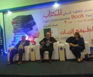 """""""تهاني الجبالي"""" لـ""""صوت الأمة"""": معرض الكتاب أصبح صرح ثقافي عظيم (صور)"""
