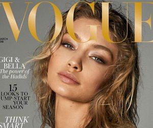 إطلالة مثيرة لجيجي وبيلا حديد على غلاف Vogue (صور وفيديو)