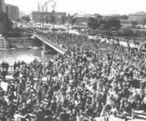 حكاية صورة.. عندما فتح الاستعمار كوبري عباس على الثورة الطلابية
