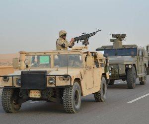 القوات المسلحة: استشهاد 3 ضباط و4جنود بمناطق العمليات في شمال سيناء (فيديو)