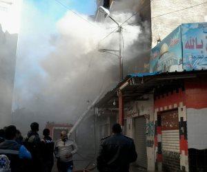 السيطرة على حريق في مطعم كبابجي بالتجمع الخامس