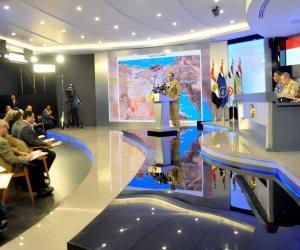 المتحدث العسكري يعقد مؤتمرا صحفيا بشأن العملية سيناء 2018 (بث مباشر)