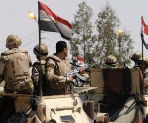 البيان الثانى عشر للعملية الشاملة سيناء2018.. القصف المدفعي لـ 185 هدفا.. والقضاء على 11 تكفيرياً.. وتدمير 375 مخبأ وملجأ ومخزن وخنادق