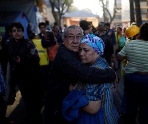 زلزال بقوة 7.5 درجة يضرب المكسيك (صور)