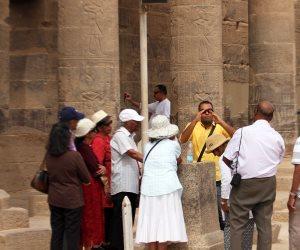 معبد فيله.. مقصد السياح الأول ببلاد النوبة (صور)