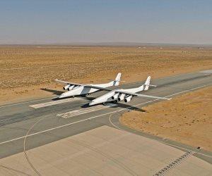 أضخم طائرة فى العالم جناحيها أطول من ملعب كرة القدم (صور)
