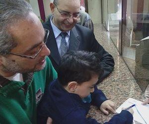 """""""من مصروفه"""".. تلميذ بالصف الأول الابتدائي يتبرع لصندوق """"تحيا مصر"""""""