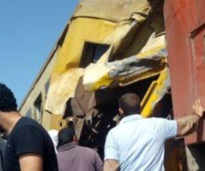 إخلاء سبيل سائق ومساعد قطار البضائع فى حادث اصطدام قطارى البحيرة