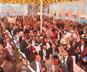 حساسين:مصر  تحتاج جهد وفكر الرئيس عبد الفتاح السيسى