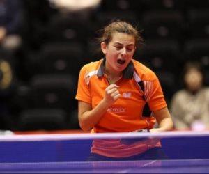 دينا مشرف تفوز بالبطولة الإفريقية لتنس الطاولة