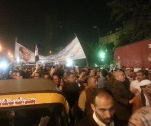 """""""كمل واحنا معاك"""" .. مسيرة حاشدة لدعم الرئيس السيسي في شوارع روض الفرج ( صور )"""