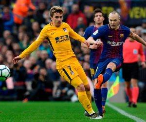 برشلونة يتقدم على أتليتكو مدريد بهدف ميسى فى الشوط الأول (فيديو)