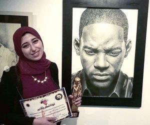 ويل سميث ينشر صورة له بريشة الرسامة المصرية شروق يحيى على إنستجرام (صور)