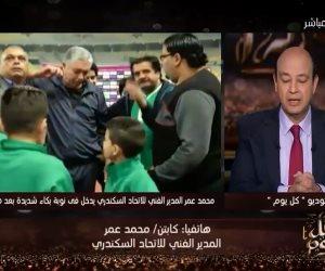 محمد عمر: دموعى على نجلي الشهيد فرحة وشقيقه يتمنى الخدمة بسيناء