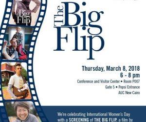 الخميس .. الدبلوماسية السينمائية لواشنطن تعرض فيلم The Big Flip بالجامعة الامريكية بالقاهرة