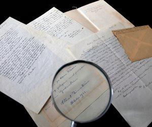 بيع رسالتين لإينشتاين بقيمة 12 ألفا و200 دولار في مزاد بالقدس (صور)