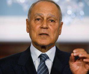 كيف ستواجه جامعة الدول العربية قرار أمريكا حيال الجولان والقدس؟.. أبو الغيط يجيب