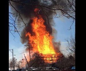 النيابة تطلب تحريات الأجهزة الأمنية حول اشتعال النيران بمبنى تابع لشركة المياه بالعياط